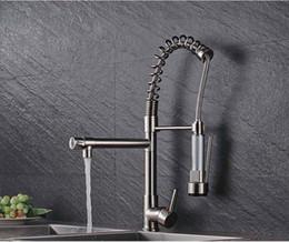 Tap Kitchen Design Australia - stunning Europe design pull out spray sink kitchen faucet single hole deck mounted Chrome kitchen tap TH4005