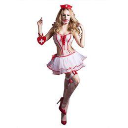 Nurse Costume Fashionable Nurse Uniform Cosplay Sexy Lingerie
