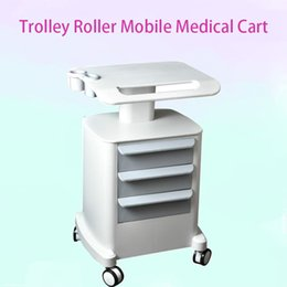 Carts Trolleys Australia - Professional Trolley Roller Mobile Medical Cart With Draws Assembled Stand Holder For Beauty Salon SPA US Standard HIFU Skin Lifting Machine