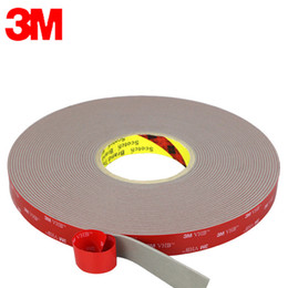 3m double sided foam tape online shopping - 3M A GF VHB double sided acrylic foam tape is used for for the bonding of glass wall vehicle manufacturing and electronic products