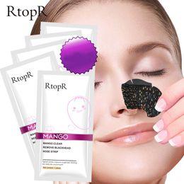 $enCountryForm.capitalKeyWord Australia - RtopR Mango Blackhead Remover Nose Mask Acne Treatment Pore Strip Face Lift Firming Peeling T Zone Care Oil-control Mask