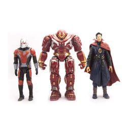 $enCountryForm.capitalKeyWord UK - 7 Style Avengers Endgame Action Figures toys 2019 New Avengers 4 Thanos Iron Man Captain Marvel Hulk Captain America model doll toy C13
