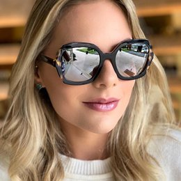 big square sunglasses for men Australia - PAWXFB 2019 Retro Fashion Square Sunglasses Women Men Big Frame Celebrity Sun Glasses For Female lentes de sol UV400