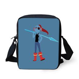 Genuine Leather Crossbody Handbags Wholesale Australia - Anime Undertale Small Kid School Handbags New Messenger Bags Boys Girls Travel Crossbody Shoulder Bag Satchel School Bag