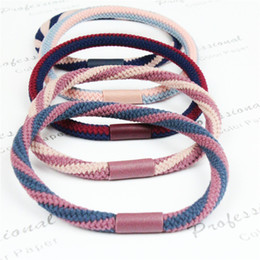 Indian Hair Rubber Bands Australia - Wholesale jewelry Korean version of the hair band new minimalist fashion elastic good rubber band hair ring
