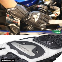 racing alloy NZ - Gk 169 motorcycle long gloves titanium alloy hard block riding riders leather Racing Gloves fall proof