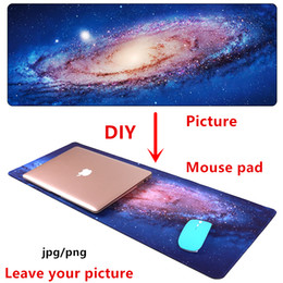 Diy Player Australia - Large DIY Mouse pad mat gaming Custom mousepad L XL Anime picture customize for CS GO player unknown's battlegrounds mouse mat