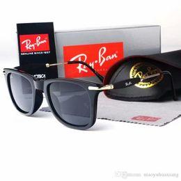 $enCountryForm.capitalKeyWord Australia - hot selling new AOOKO Hot Sale Designer Pop Club Fashion Sunglasses Men Sun Glasses Women Retro green 2148 gray brown Black blue lens