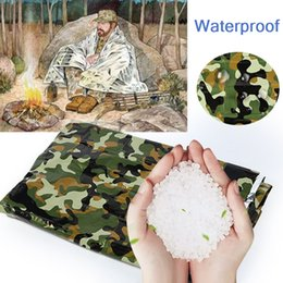 $enCountryForm.capitalKeyWord Australia - Rescue Blanket Keep Warm Survival PET Waterproof Gadgets Emergency Blankets Insulation Curtain Safety Camp