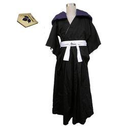 Making Clothes Games Australia - Death God's Guard 13th Fanfan team vice captain Daqian Tian Xi Qiandai kimono anime Cosplay men's clothing
