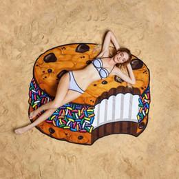 Swimsuit Wraps For Woman Australia - Women Beach Shawl Cover Up pattern sarong Bikini Wrap Fruit Printed Sarong for Women Swimsuit Swimwear Bathing Suit