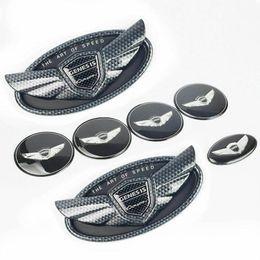 Wholesale 7x Emblem for Hyundai Genesis Coupe Carbon Fiber