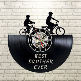 Ideas Decor NZ - Brother gift ideas, Vinyl wall clock,wall decor, Best brother ever, quote wall art