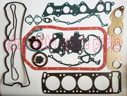 Engine Gaskets Australia - Engine rebuilding kits 4G54 V32 overhaul kit gasket kit MD997063 for Mitsubishi Montero pick-up Starion Turbo 2555cc 2.6l Petrol
