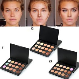 eye shadow palette contour makeup Australia - New Makeup Professional 15 Colors Eye Shadow Contour Palette Facial Camouflage Make Up Eyeshadow Pallete Cosmetics 10*8*1CM