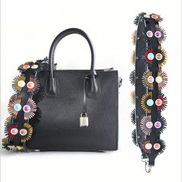 a905620d98d1 90cm Colored Fur Replacement Shoulder Bag Straps Colorful Genuine Leather  Purse Handles For Handbags Belt Bag Accessories 946