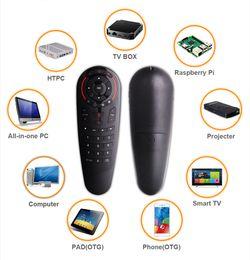 G30s Aero Mouse Wireless Googles Sprachluft Mouses 33 Tasten IR Lernen Gyro Smart Remote Control für Android TV Box Mini PC im Angebot
