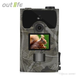 Shipping Mp Camera Australia - Outlife 1080P HD 16MP Digital Trail Hunting Camera Outdoor Night Vision 850nm Wildlife Cameras for Animal Photo Trap Free Shipping VB