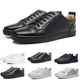 Chinese  2019 Designer Fashion Spike Low Cut Party Mens Dress Shoes Luxury Party Womens Wedding Shoes Genuine Leather Casual Shoes Sneakers 36-45 manufacturers