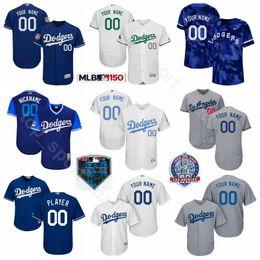 61a7cce8543 Los Angeles Baseball Dodgers 42 Jackie Robinson Jersey 34 Fernando  Valenzuela 32 Sandy Koufax 30 Maury Wills 55 Orel Hershiser Custom Name