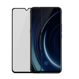 Wholesale Baseus KM01 mm Full screen Curved Frosted Tempered Glass Film Screen Protector For Vivo X23 Iqoo Black