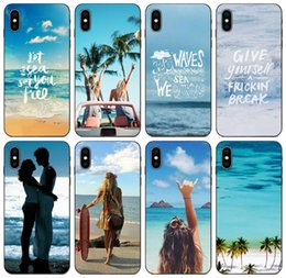 samsung prime soft case NZ - [TongTrade] Top 24 Sea Quotes Case For iPhone 11 Pro X XS Max 8s 8 7s 7 6s 6 Samsung Core 8262 Prime Huawei Y6 Sony Xperia XA Soft TPU Case