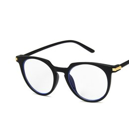myopia computer NZ - Coyee Computer Eyewear New Brand Anti Blue Ray Eye Glasses Retro Round Myopia Prescription Spectacles For Women Men Eyeglasses