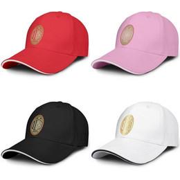 $enCountryForm.capitalKeyWord Australia - A.C. Milan I Rossoneri l Diavolo ACM Gold Fashion Couple Customization Adjustable Snapback graphic funky caps for men Mesh Hat Cool 100%
