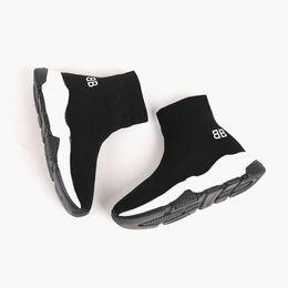 $enCountryForm.capitalKeyWord UK - Kids shoe girl boy slip on toddler shoes sock boot kids running sport sneakers fashion soccer boots EU 24-35 send with box designer shoe