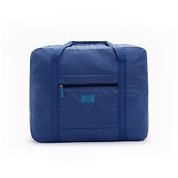 $enCountryForm.capitalKeyWord UK - Women High Quality Folding Travel Bag Nylon Hand Luggage Men Fashion Large Capacity Duffle Overnight Bag Bolsos De Viaje Mujer