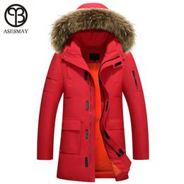 088ce8430d24a Asesmay winter jackets 2018 man luxury down jackets puffer jacket oversize  parka millitary mens long parka waterproof male coats
