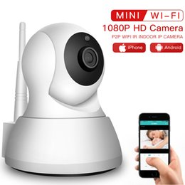 Cctv Wifi Ip Australia - SDETER Wireless Pet Camera 1080P WiFi Camera IP CCTV Surveillance Security P2P Night Vision Baby Monitor Indoor 720P Cam