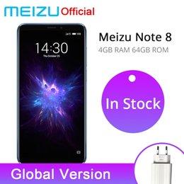 Официальная глобальная версия Meizu Note 8 4GB 64GB Note8 мобильный телефон Snapdragon 632 6.0 дюймов 2160x1080p двойная камера заднего вида