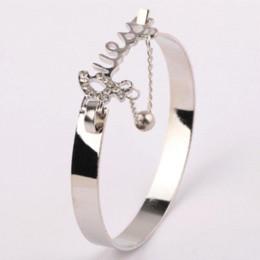 14252c0e87150 Modeschmuck Liebe Exquisite Armband Zubehör Strass Decor Stilvolle Hand Kette  Ring Drop Shipping für Mädchen Dailwearing