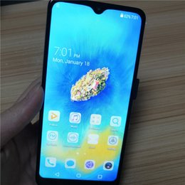 pro chinese cameras 2019 - New 6.5 inch water drop screen Cheap Mate20 Pro Smartphone MTK6580P Quad Core 1GB+4G Mobile Phone 3000mAh Capacity Batte