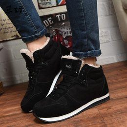 $enCountryForm.capitalKeyWord NZ - Leather Shoes Men Plus Size Tennis Sneakers For Winter Ankle Boots Male Warm Lovers Casual Botas Hombre