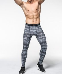 $enCountryForm.capitalKeyWord NZ - Famous fashion brand designer new camouflage fitness pants male elastic quick-drying sweatpants running cycling basketball exercise tights