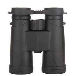 Binoculars Bak4 online shopping - Outdoor Portable Double Focusing High Magnification No HD Binoculars X42 X Black BAK4 Lens Cloth