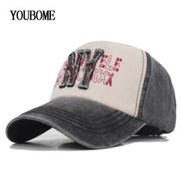 vintage ball caps for men NZ - YOUBOME Fashion Brand Snapback Caps Women Men Baseball Cap Hats For Men Embroidery Casquette Bone Vintage Cotton Dad Hat Caps