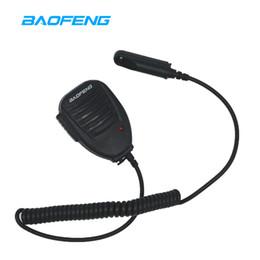 Two way radios accessories online shopping - Baofeng UV R Speaker Mic Microphone Waterproof Two Way Radio Accessories for UV R PLUS GT WP UV S Retevis RT6 Walkie Talkie