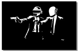 $enCountryForm.capitalKeyWord Australia - Daft Punk DJ Pop Art Silk Poster 24x36inch 24x43inch 549