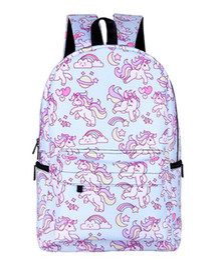 Fashion Backpack Shoulder Bag Outdoor Travel Cartoon Animal Print Bag Male And Female Students School Bag