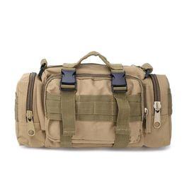 Yellow Camera Bag UK - Camouflage Multifunctional 3P Magic Pockets Military Fans Casual Sports Tactics Shoulder bag camera backpack jsh1526-4