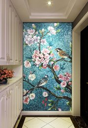 $enCountryForm.capitalKeyWord Australia - [Self-Adhesive] 3D Flowers And Birds 1793030 Wall Paper mural Wall Print Decal Murals
