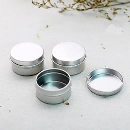 $enCountryForm.capitalKeyWord NZ - 1000pcs lot Free Shipping 20g empty aluminium cream jars,cosmetic case jar,20ml aluminum tins, metal lip balm container