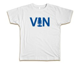 "$enCountryForm.capitalKeyWord Australia - ""Vin Scully"" Custom White Tee T-Shirt Dodgers Farewell hip hop funny tee,mens tee shirts T shirt printing Cheap wholesale tees"