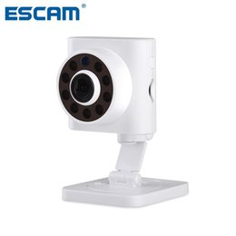 $enCountryForm.capitalKeyWord Australia - ESCAM Wall E QF601 2.8MM Lens 720P Wireless WiFi Indoor Motion Detection 110 Degree Viewing Angle Night Vision IP Network Camera