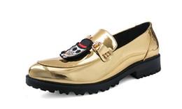 $enCountryForm.capitalKeyWord UK - 2019 New listing men dress shoes luxury embroidery Horsebit dress shoes men casual shoes Large size: US 6.5-11 932
