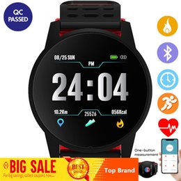 $enCountryForm.capitalKeyWord Australia - Top Sports Smart Watch Men Women Heart Rate Monitor Blood Pressure Fitness Tracker Smartwatch Gps Sport Watch For Android Ios MX190716
