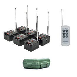 6 Cue Remote 200M Wireless Fireworks Firing system&Wedding equipment&stage equipment on Sale